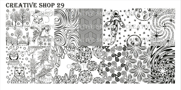 Creative Shop Stamping Plate 29