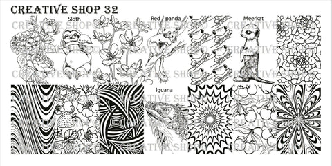 Creative Shop Stamping Plate 32