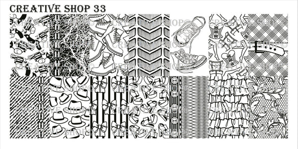 Creative Shop Stamping Plate 33