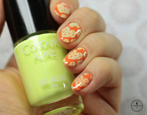 Colour Alike stamping polish - Rocky