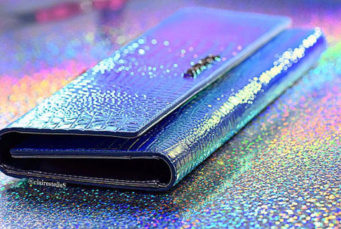 Milky Way Hologram Wallet