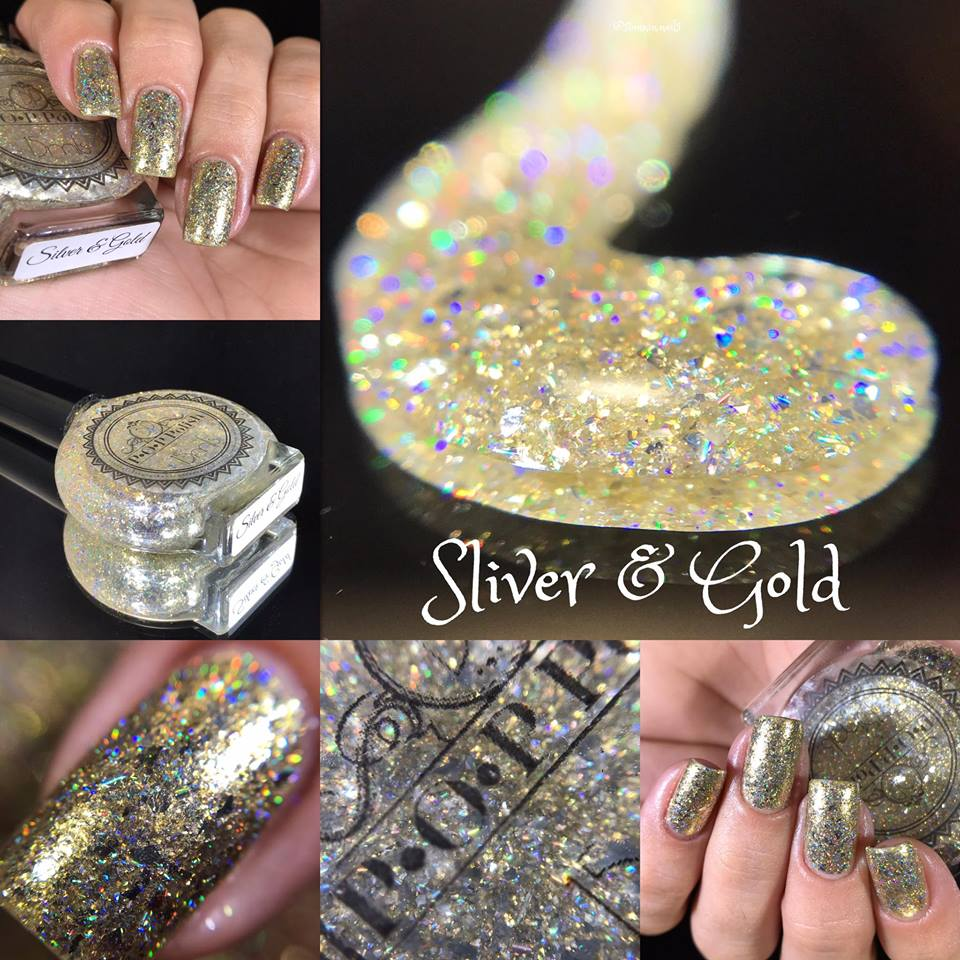 Silver & Gold (Christmas Glam)