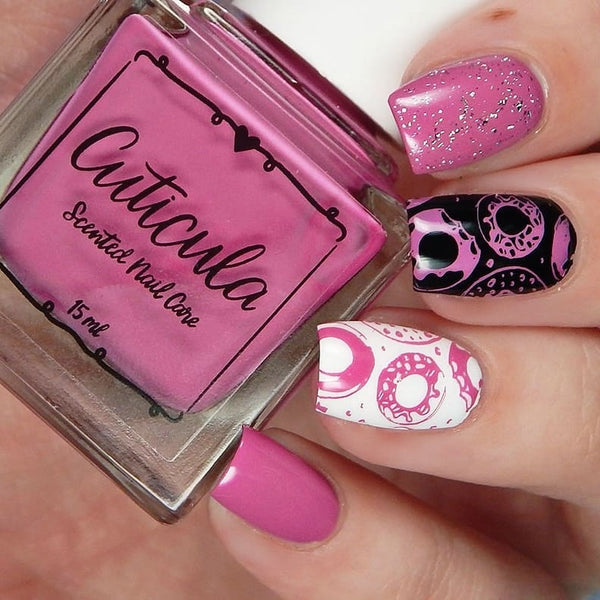 Sweet Hearts Creme/Stamping Polish