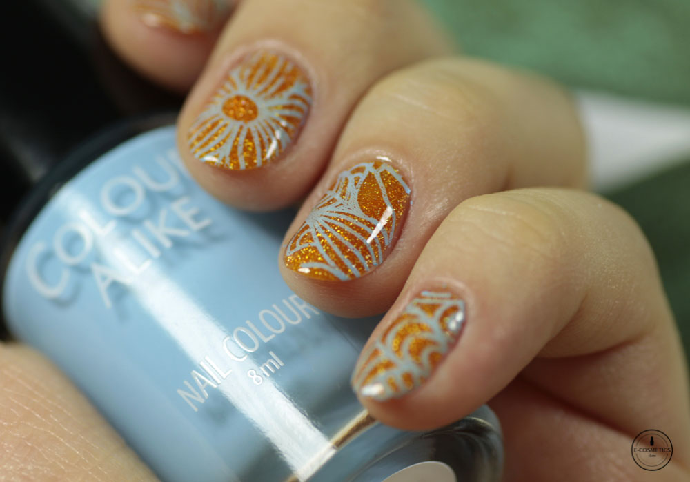 Colour Alike stamping polish - Boo