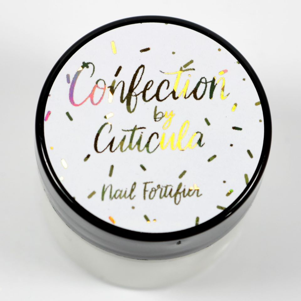 Cuticula Confection Nail Fortifier - new fall scents!