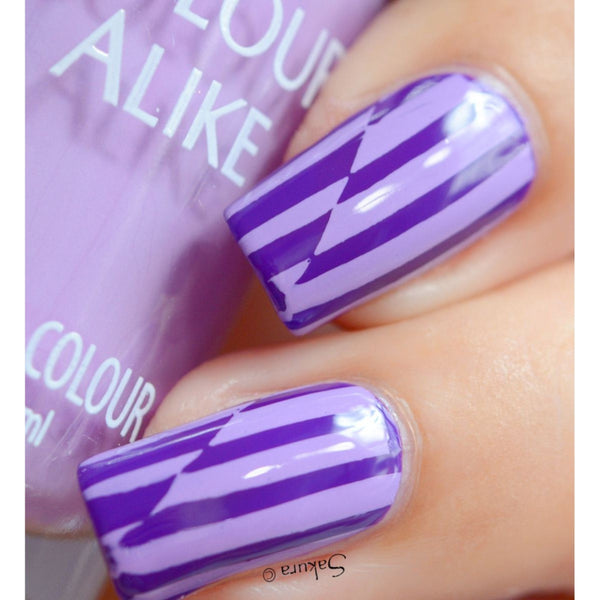 Colour Alike stamping polish - BERRY SMOOTHIE