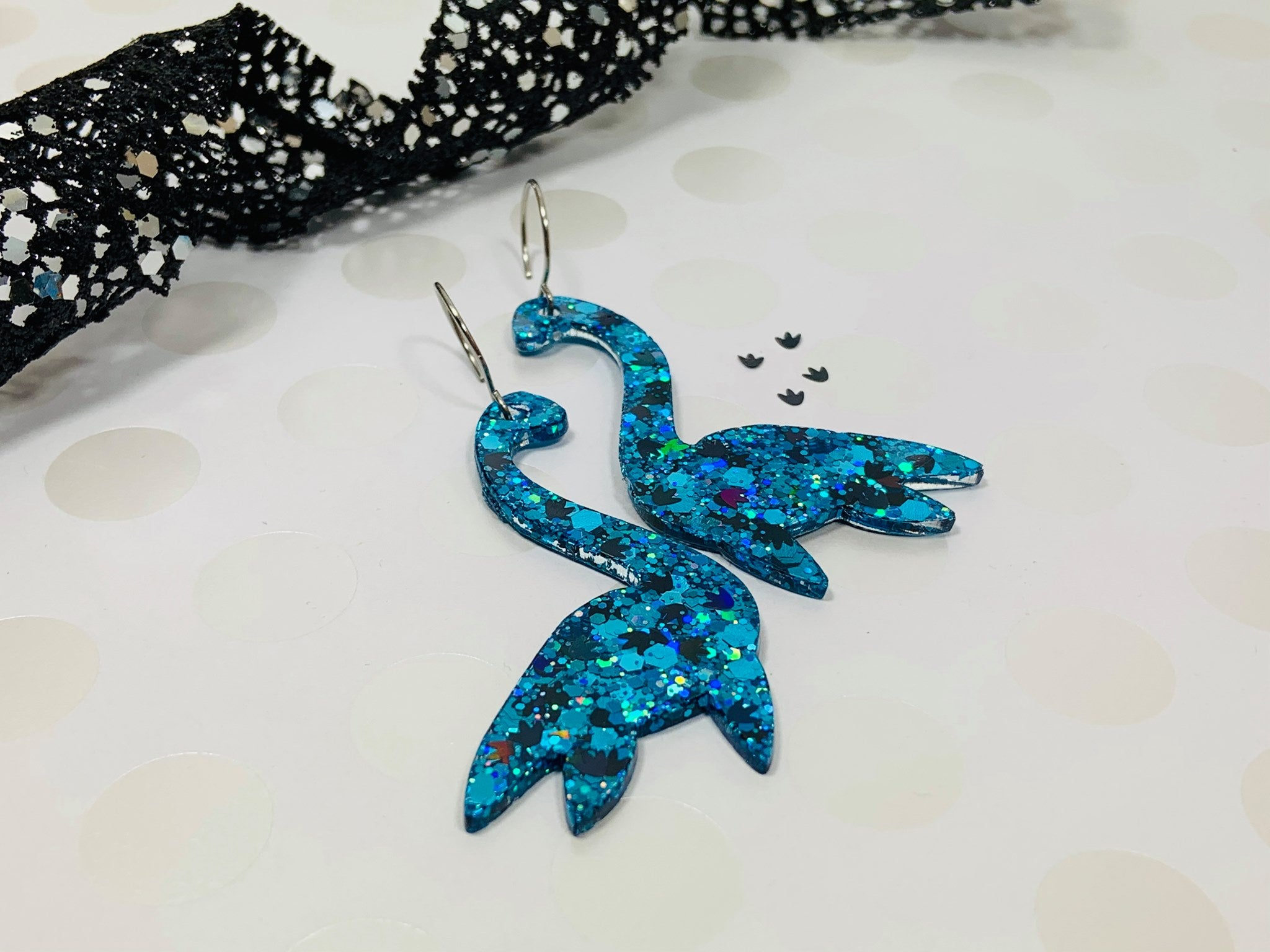 PPU extras -  Just Duckie Designs | Big Blue Earrings