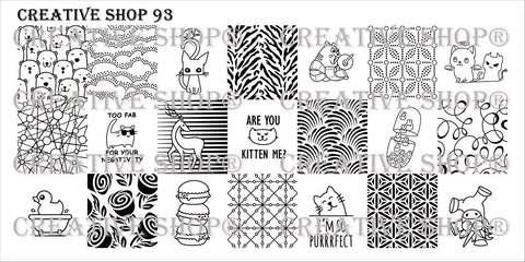 Creative Shop Stamping Plate 93