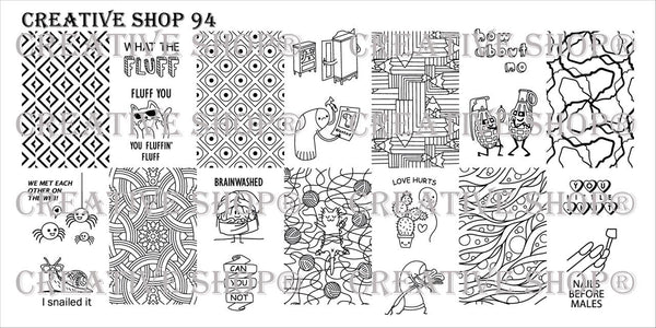 Creative Shop Stamping Plate 94