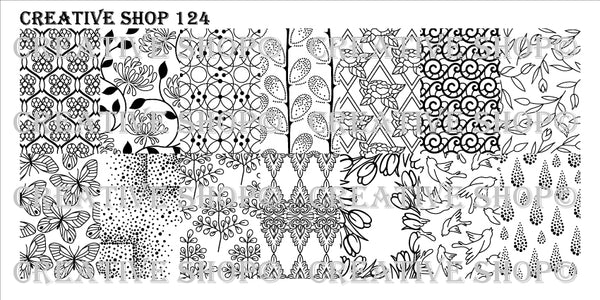 Creative Shop Stamping Plate 124