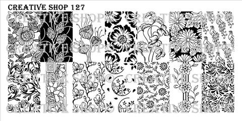 Creative Shop Stamping Plate 127