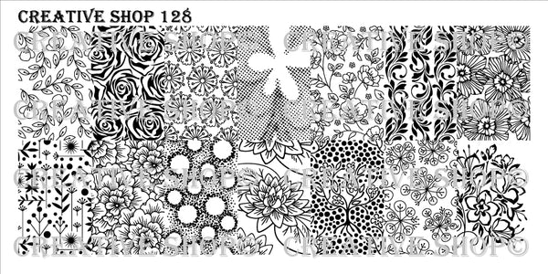 Creative Shop Stamping Plate 128