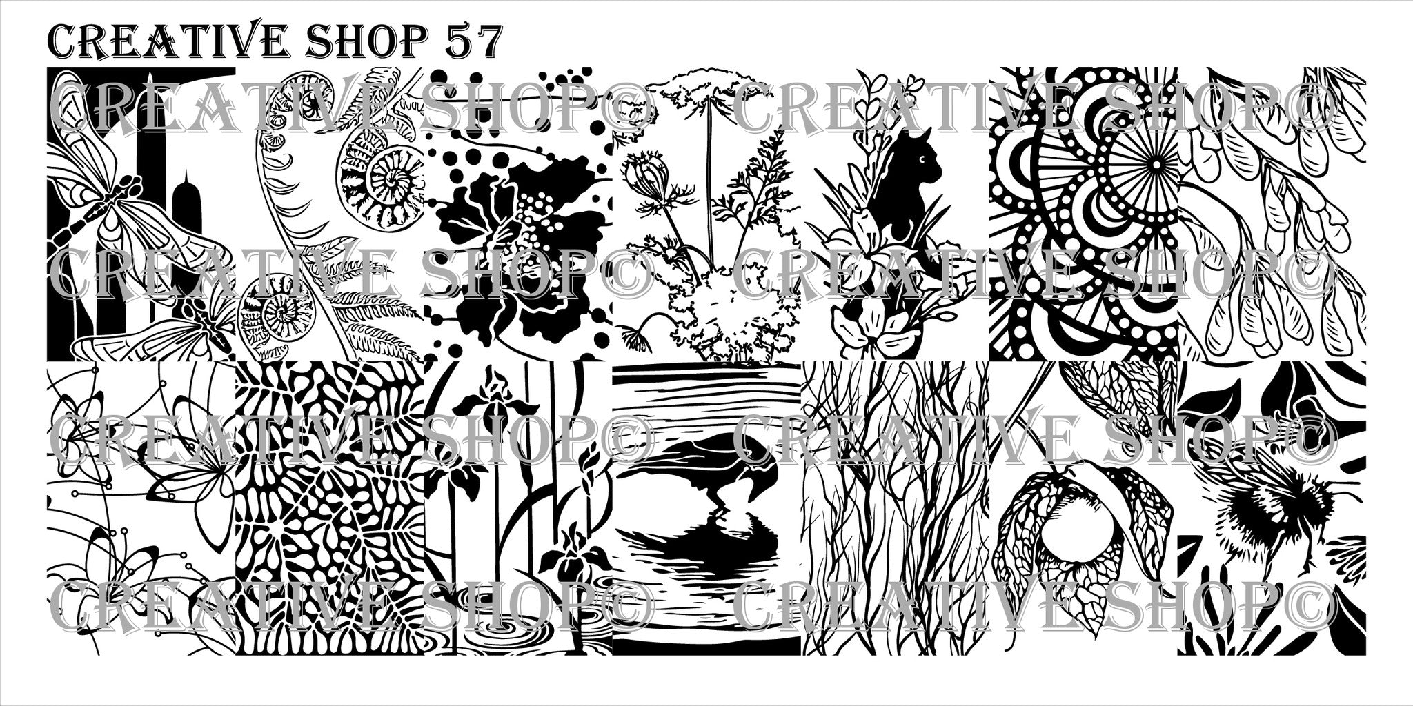 Creative Shop Stamping Plate 57