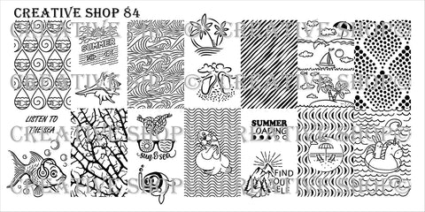 Creative Shop Stamping Plate 84