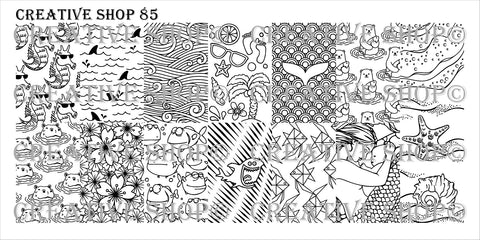 Creative Shop Stamping Plate 85