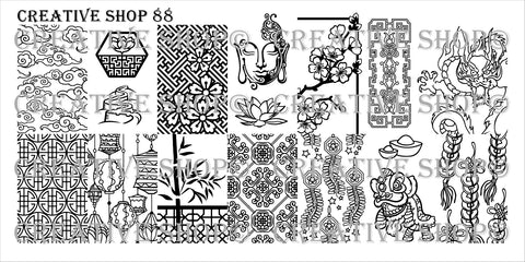 Creative Shop Stamping Plate 88