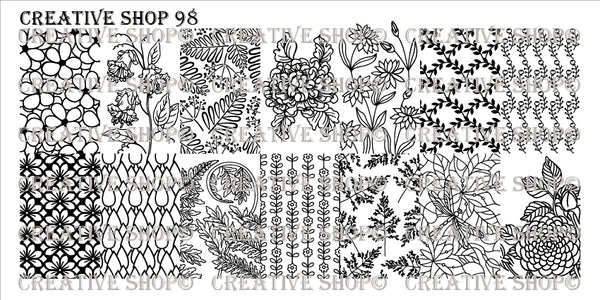 Creative Shop Stamping Plate 98