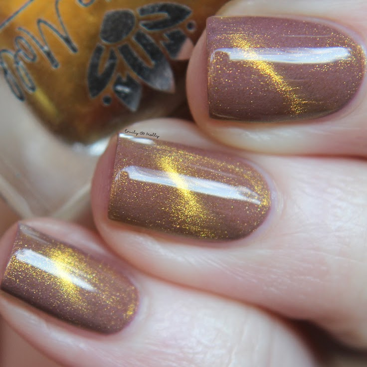 Gilded Beauties (magnetic top coat)
