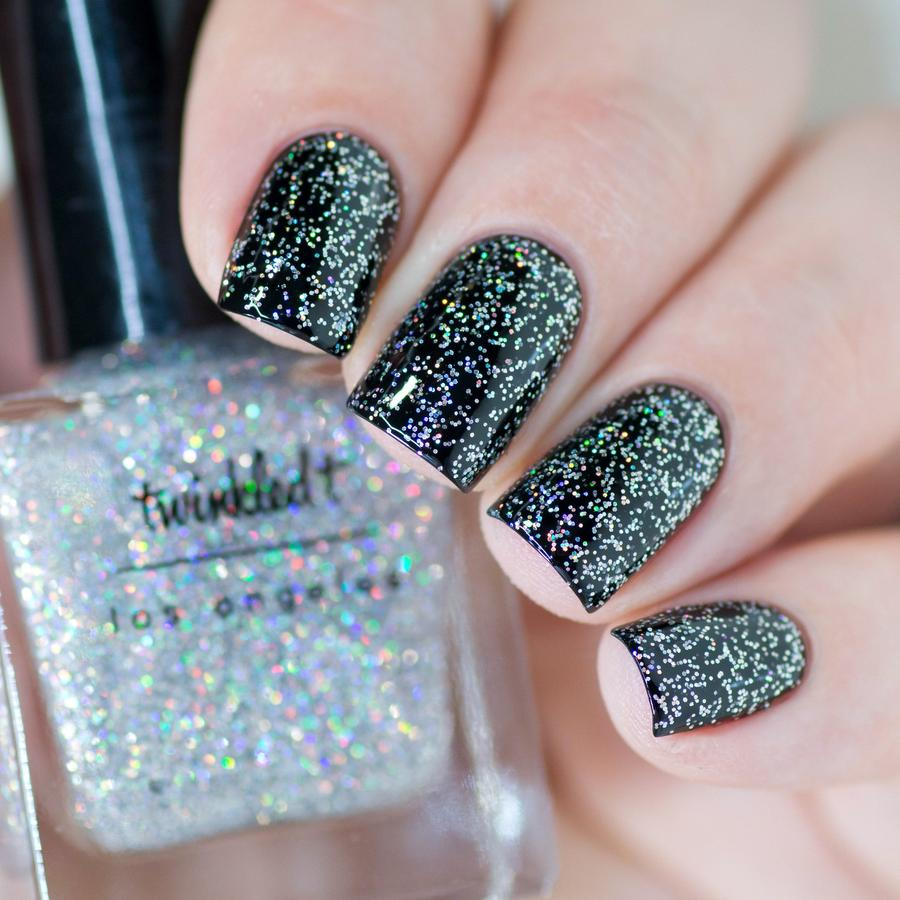 HOLO HAIL (holo glitter top coat)