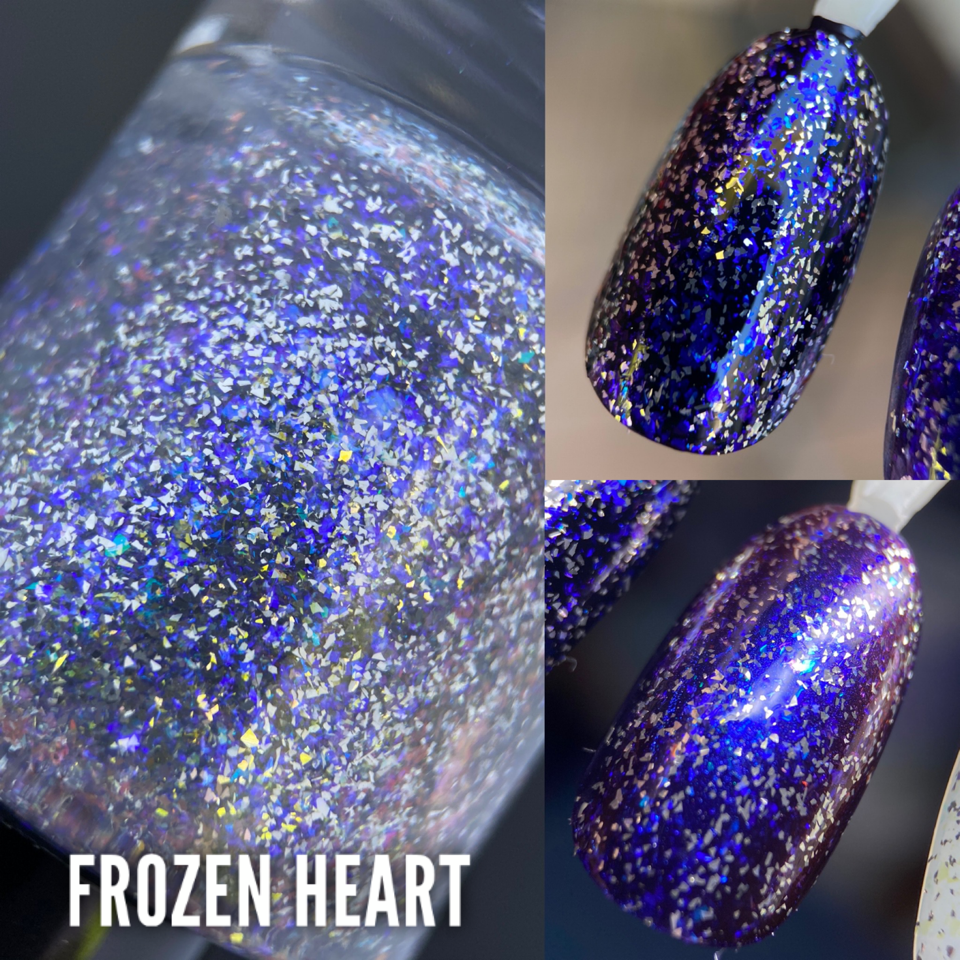 Frozen Heart (topper)