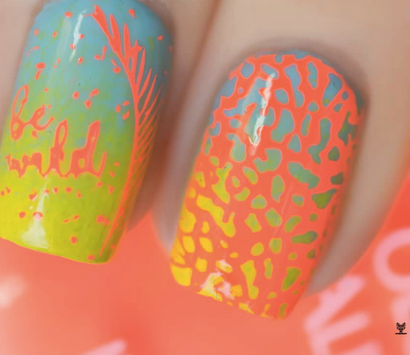 Colour Alike stamping polish - Tainted Love