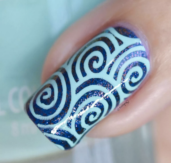 Colour Alike stamping polish - MINT