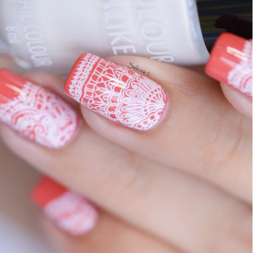Colour Alike stamping polish - Kind of White