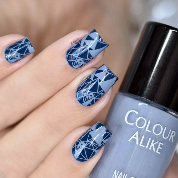 Colour Alike stamping polish - Mysterious Fog