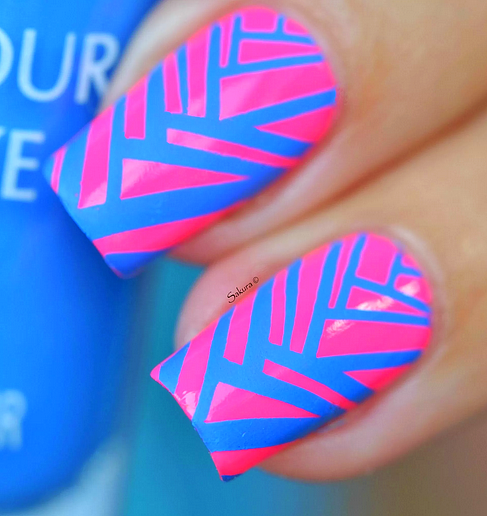 Colour Alike stamping polish - COBALT KICK