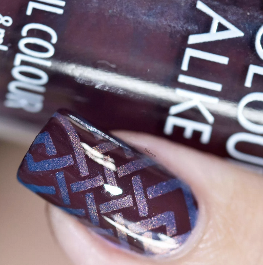 Colour Alike stamping polish - Chestnut