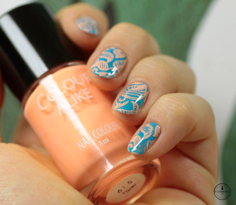 Colour Alike stamping polish - TIGER
