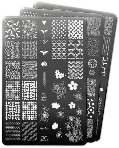 UberChic Nail Stamp Plates - Collection 28
