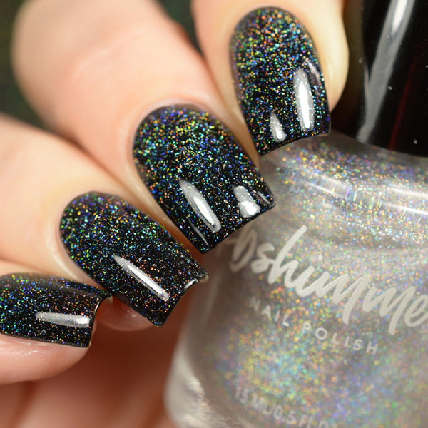 A STAR IS FORMED MICRO HOLO FLAKE GLITTER NAIL POLISH