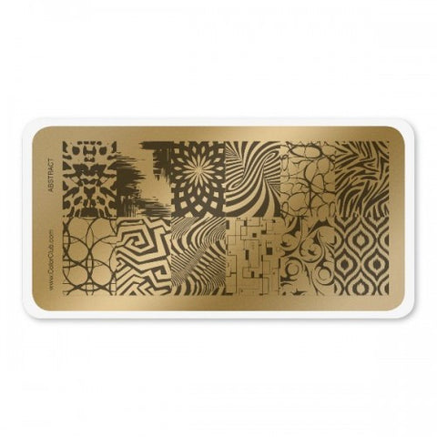 Color Club Abstract Stamping Plate