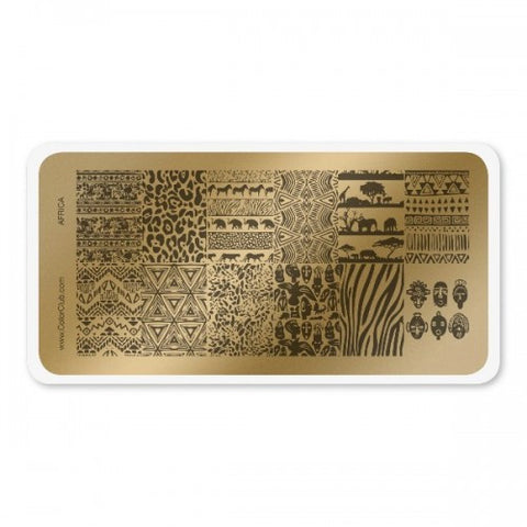 Color Club Africa Stamping Plate