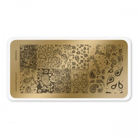 Color Club Bandana Stamping Plate