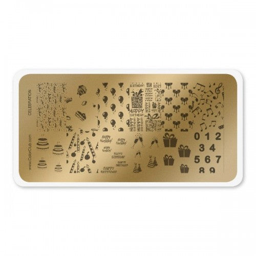 Stamping Plate Celebration