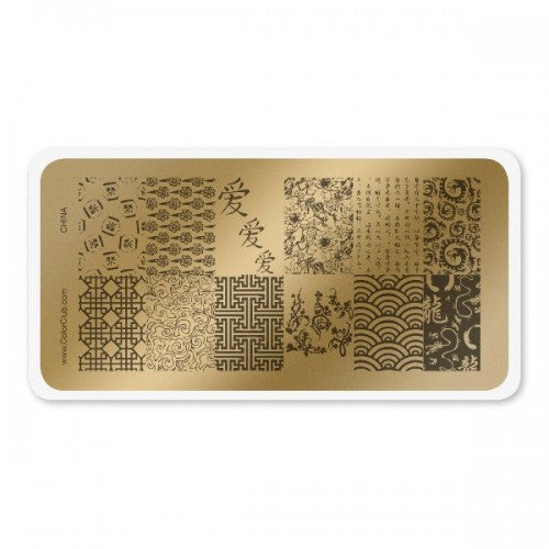 Color Club China Stamping Plate