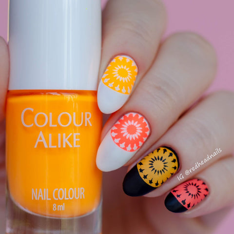 Colour Alike stamping polish - Self Control