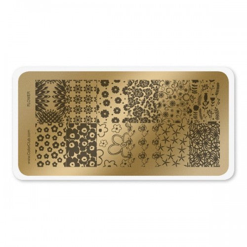Color Club Flower Stamping Plate