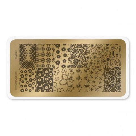 Stamping Plate Flower