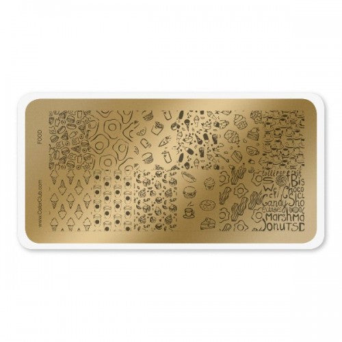 Stamping Plate Food