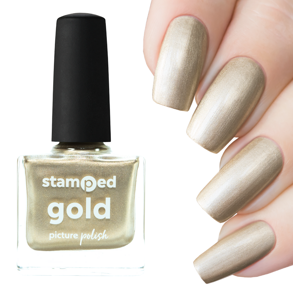 Stamped Gold