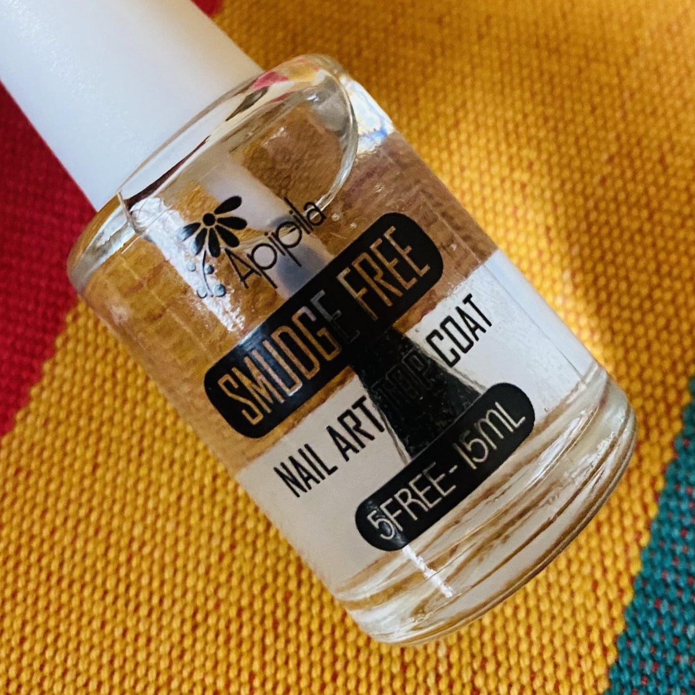 Smudge Free Nail Art Top Coat by Apipila