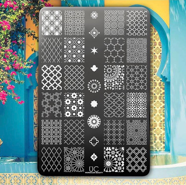 Moroccan Beauty - UberChic Nail Stamping Plate