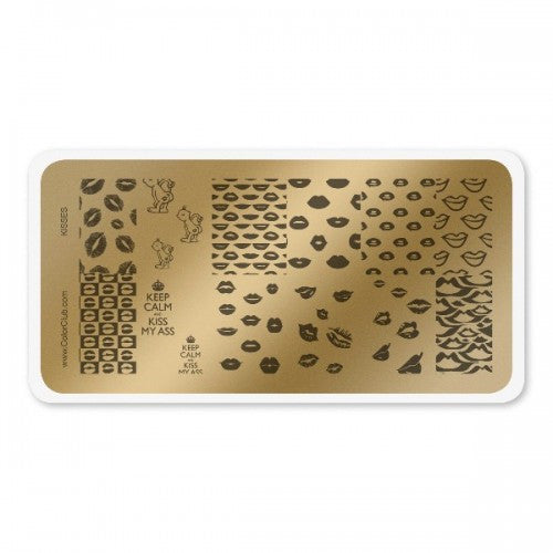 Stamping Plate Kisses