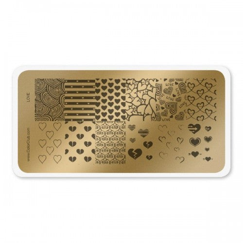 Stamping Plate Love
