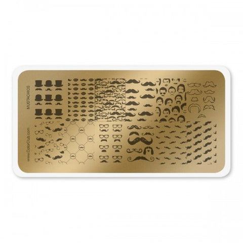 Stamping Plate Mustachios