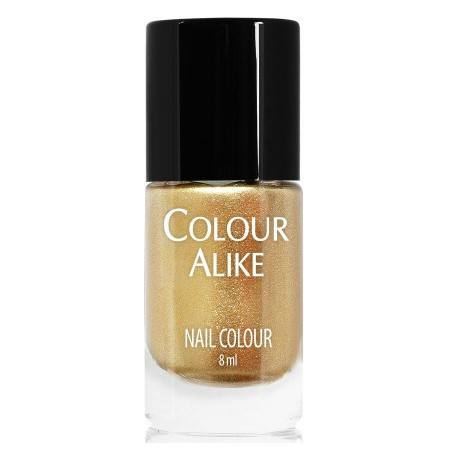 Nail Art Supplies - Colour Alike Stamping Polish - Golden Queen
