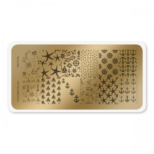 Stamping Plate Nautical